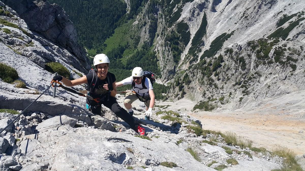 Klettersteig Rax : Rax hohe wand via ferrata klettersteig túra